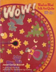 Wool-On-Wool – Folk Art Quilts Book Cover